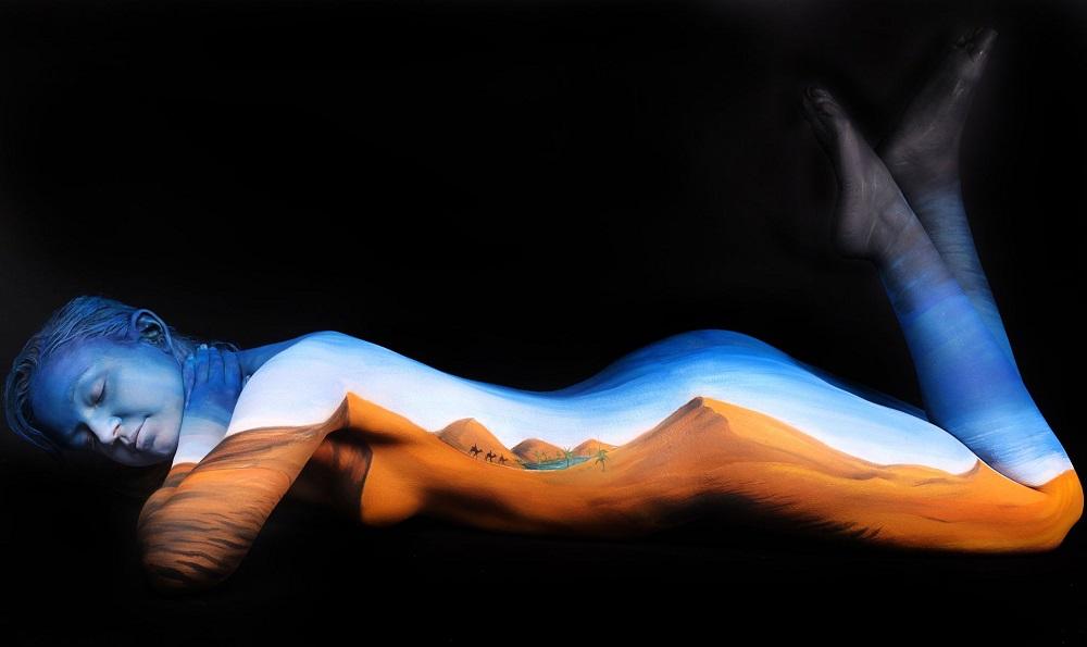 body art desert