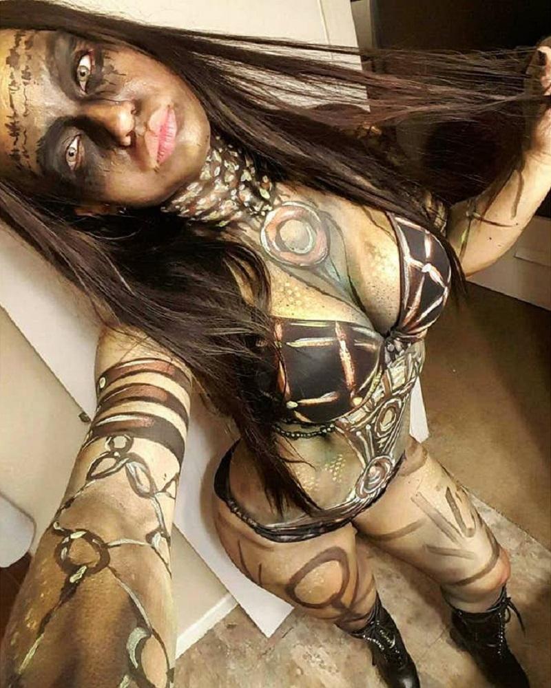 body art enchantress