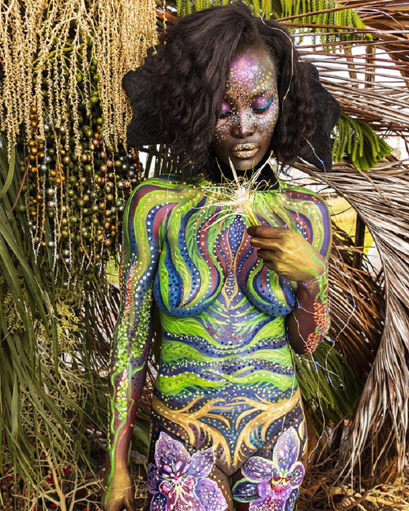 body art floral