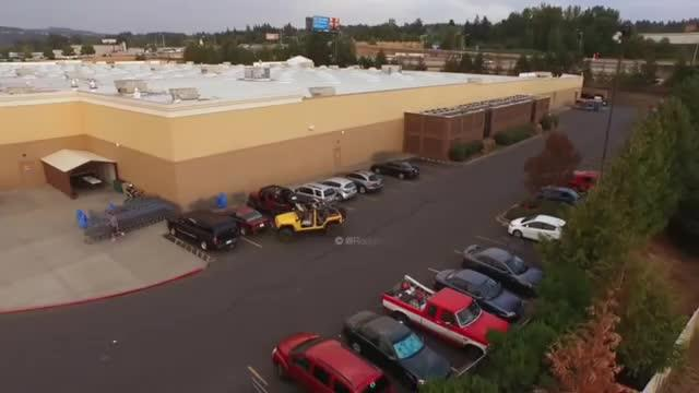 parking lot thief